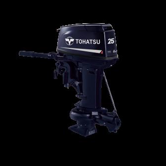 Двухтактный лодочный мотор TOHATSU M 25 JET - 1